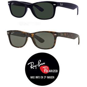 0ccd1485bae1c Ray Ban New Wayfarer Polarizados Rb2132 Lentes Anteojos Sol ...