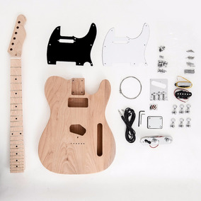 Kit De Guitarra Desmontada Telecaster Ss Mp Alder Sngk002e