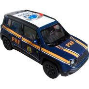 Miniatura Jeep Renegade Prf Polícia Rodoviária Federal