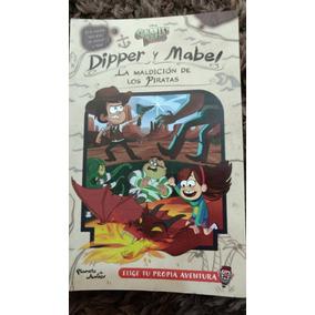 Libro Gravity Falls La Maldicion De Los Piratas Español Dhl