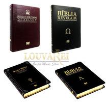 Kit 4 Biblias Di Nelson - Santa, Chronos, Reveladas At + Nt