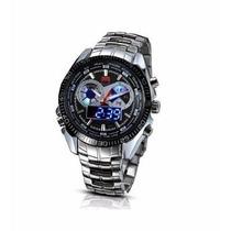 Relógio De Luxo Tvg Seals Elite Masculino Led Promoção!