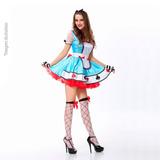 Fantasia Alice No País Das Maravilhas Todos Os Tamanhos