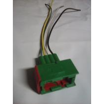 Plugue Soquete Conector Farol Foco Duplo Vectra 2000