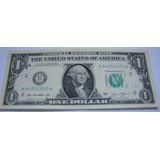 Cédula Nota Um (1) Dólares Americanos Fe Pague Até 12 X