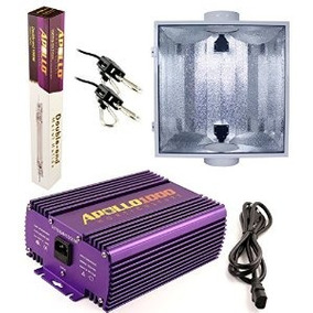 Apolo Horticultura 1000w Vatios Hps Mh Doble Punta Regulable