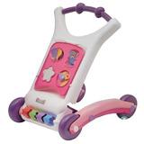 Caminador Andador Rondi Rosa Bebé 3 En 1 Didáctico- Zona Sur