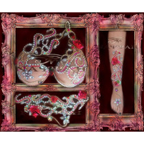 Traje Danza Arabe Boreal Rouge Taza Soft 95 O 100