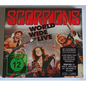 Cd Duplo Digipak Scorpions - World Wide Live Deluxe Lacrado