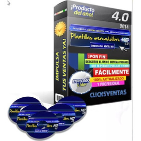 Plantillas Mercadolibre Hd 4.0+video Y Regalo Gratis