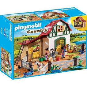 Playmobil Country Fazendinha Com Pôneis - Sunny