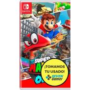 Super Mario Odyssey Nintendo Switch Juego Fisico Sellado