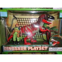Set Juego De Dinosaurios