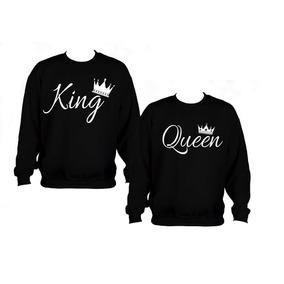 Sudaderas Novios Parejas Envio Gratis King Queen A