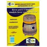 Sacos Descartáveis P/ Aspirador De Pó Lavor Wash Gn 22 Br