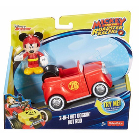 Mickey Aventuras Sobre Ruedas - Auto De Mickey 2 En 1 - Orig