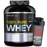 100% Pure Whey Protein 2kg + Shaker - Probiótica