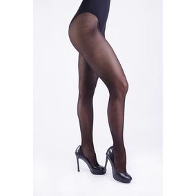 Medias Glam Microred Mora Efecto Translúcido 1936 Panty
