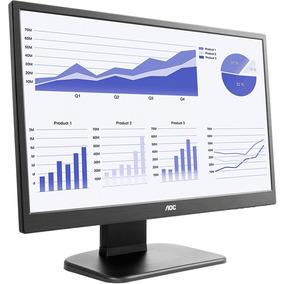 Monitor Led 21.5 Aoc E2270pwhe Widescreen Anti-reflexiva