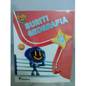 Livro Projeto Buriti Geografia 4 - Ed. Moderna