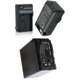 Kit Bateria Vw-vbg6 + Carregador Panasonic Ag-ac130 Ag-ac160