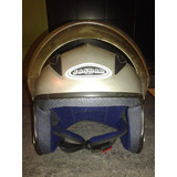Casco Semi Integral Para Motos Marca Helmet Modelo Jasbar