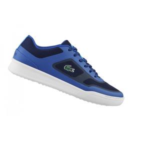 Tenis Lacoste Explorateur Sport 217 1 Azules Nuevos Original