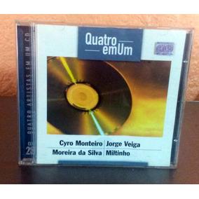 Cd 4 Em 1 Cyro Monteiro Jorge Veiga Moreira Da Silva Miltinh