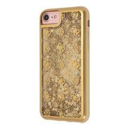 Funda Case Protector Liquid Guess Peony  Glitter iPhone 7/8