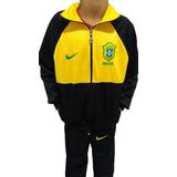 Agasalho Completo Da Seleção Brasileira - Futebol no Mercado Livre ... aea12cd26ff3d