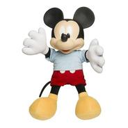 Miniatura Boneco Mickey Mouse De Pelúcia Disney Baby Brink