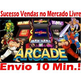 Sistema Arcade Multijogos Fliperama Promoção Envio Grátis
