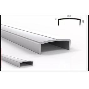 Tapacanto U Aluminio Con Detalle X 3mts. Mueble De Cocina