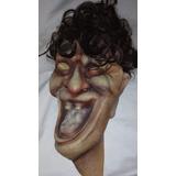 Mascara Plastica Halloween Completa Perfecto Estado