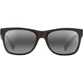 634b22ab75 Maui Jim Kahi Gafas De Sol Polarizadas Mate Madera Grano De