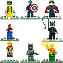 Aquaman Gatubela Batman Ironman Spider Compatible Con Lego