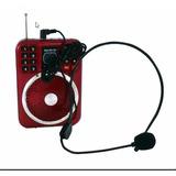 Parlante Radio Amplificador Para Profesores, Colegio.