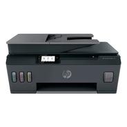 Impresora A Color Multifunción Hp Smart Tank 530  Wifi Negra
