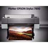 Plotter Epson Stylus Pro 7890 Operativo Para Sublimación