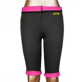 Termo Slim Pantalones Leggins De Sudor Las... (l, Pink)