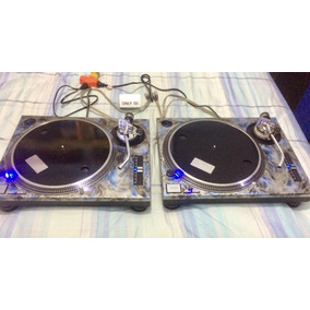 2 Platos Technics Sl 1200 Mk2 Con Agujas Ortofon Omega