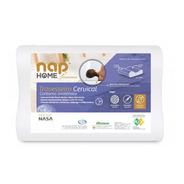 Travesseiro Nasa Cervical 48x68x14cm Anatômico Nap Antiácaro