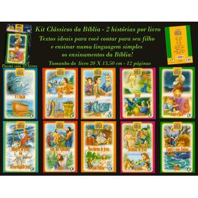Kit Clássicos Da Bíblia - Pacote Com 10 Livros