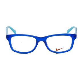 2a446b099 Oculos De Grau Azul Marinho Com Detalhes Nike Sao Paulo - Óculos no ...