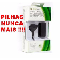 Bateria Controle Xbox360 Branco Ou Preto, Original