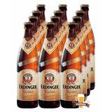 Kit 12 Cervejas Erdinger Garrafa Tradicional 500ml Weissbier