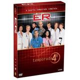 Dvd Box Er - Plantão Médico - 4ª Temporada Completa Lacrado