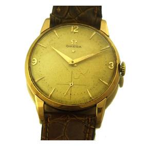 Relógio De Pulso Masculino Omega Em Ouro 18k J19995
