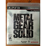 Juego Ps3 Metal Gear Solid The Legacy Collection