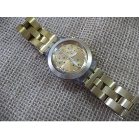 ba75844ecf5 Relógio Swatch Irony Dourado Funcionando Estou E Campinas-sp